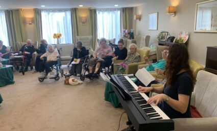 The Sound of Music Therapy - The Benefits of Music Therapy for Care Home Residents